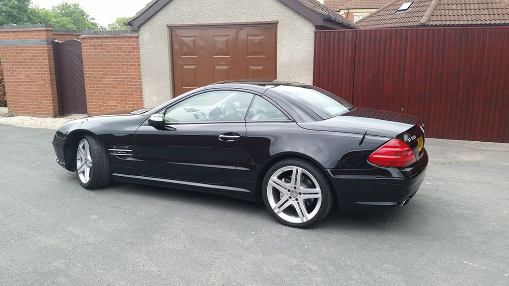 2003 mercedes sl600 amg v12 twin turbo eastern contracts. Black Bedroom Furniture Sets. Home Design Ideas